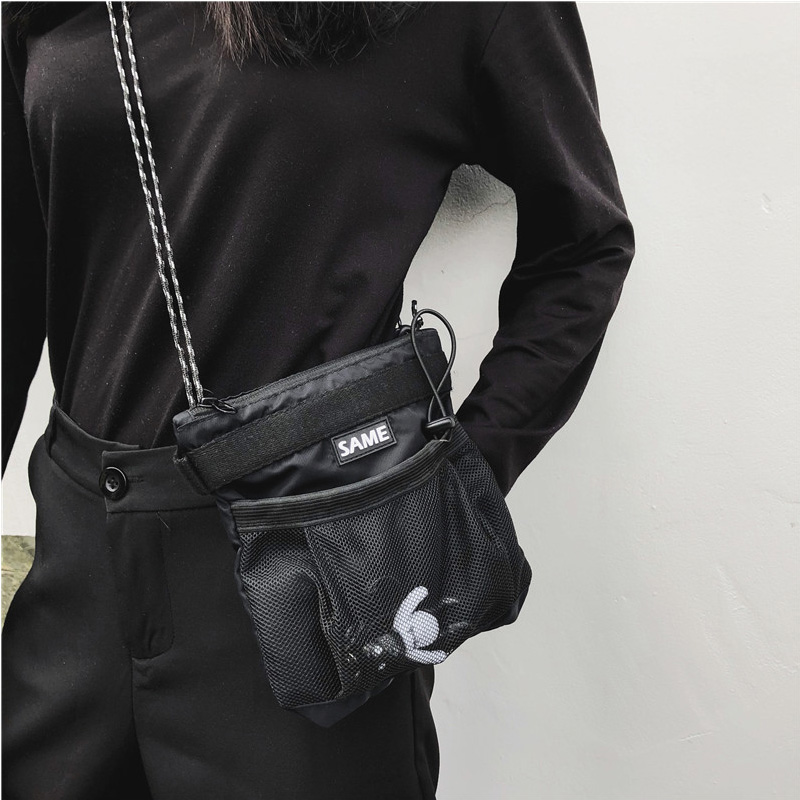 Fashion Women Men Multifunctional Messenger Bags Waterproof Phone Bag Tactical Streetwear Men Bag Mini Crossbody Bags Handbag