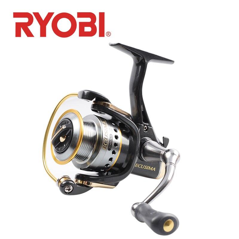 2019 RYOBI ECUSIMA VI Рыбалка вращающееся колесо 2000 3000 4000 6000 8000 2,5 ~ 8 кг перетащите 4BB Шестерни соотношение Рыболовная катушка для соленой воды