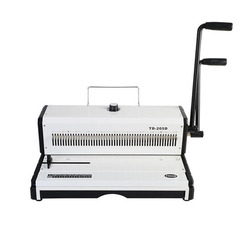 A3 Paper Puncher TD-205D Manual Spiral Wire Binding Machine Paper Cutter Decorative Hole Punch 46 Holes  Punching machine