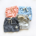 Free shipping,Hot sale clothes child clothing ,baby boy girl shorts,five-pointed star colours,Casual,Summer,Korean,,Kids wear