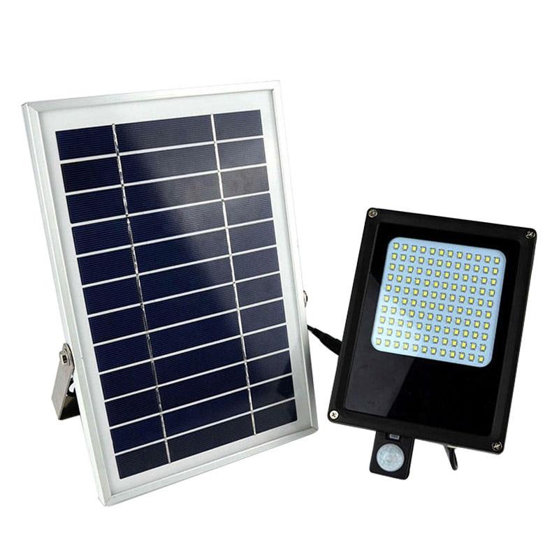 LED Solar Light Hot sale 15W 120 LED 3528 SMD Solar Powered Panel Floodlight Motion Sensor Garden Landscape Spotlights brelong 15w smd 3528 led panel light