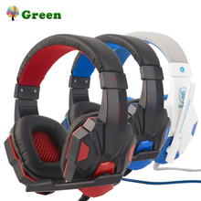 SY830MV Adjustable Length Hinges 3.5mm Surround Stereo Gaming Headset Headband Headphone with Mic for PC 3 Color For Choice binmer futural digital g800 stereo surround gaming headset headband micheadphone high quality f25