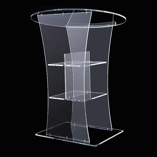 Transparent Kirche Podium Acryl Rednerpult Kanzel Moderne Acryl Rednerpult Podium Kanzel rezeption freies shiping plexiglas