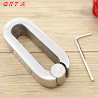 411g Weights Testicle Balls Scrotum Pendant Stainless Steel Ball Stretchers penis Cock Ring Locking Real Men adult Sex Product