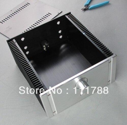 ФОТО 2412B Full Aluminum Enclosure / mini AMP case/power amplifier box/ chassis