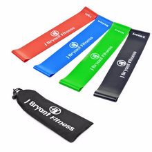 Resistance Band Set 8 Levels Available Latex Gym Strength Training Rubber Loops Bands Fitness CrossFit Equipment Free Shipping(China)