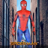 Spiderman Homecoming Adult Spiderman Costume Battle Version Spider Man Cosplay Spandex Full Body Zentai Suit Halloween