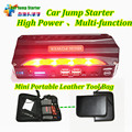 Mini Portable Petrol Diesel 12V Car Jump Starter 600A Peak Car Battery Charger Mobile 4USB Power Bank SOS Lights