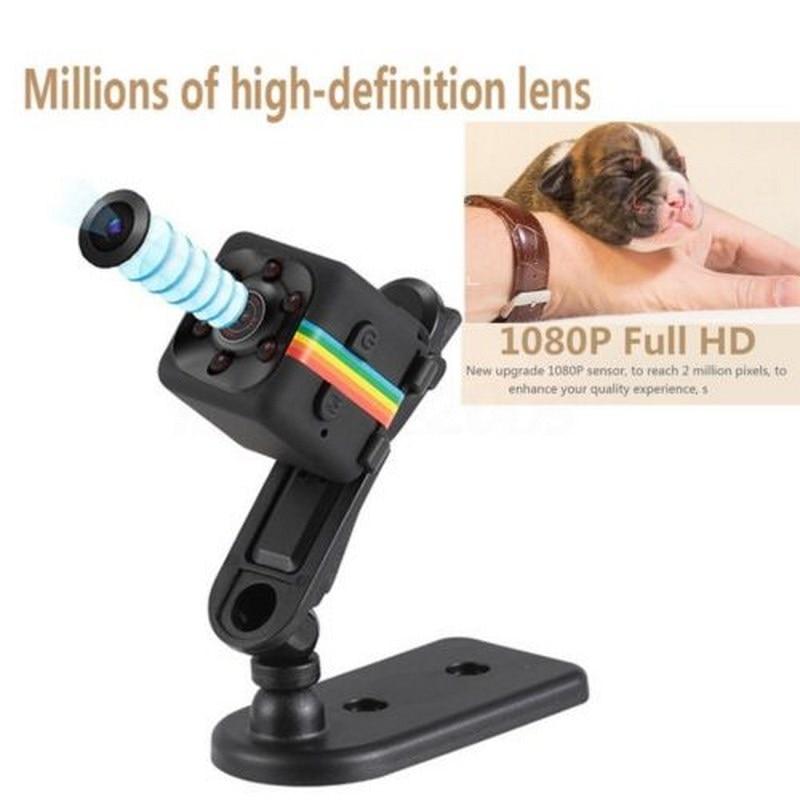 SQ11 HD 1080 P Mini Videocamera Mini Macchina Fotografica CMOS Night Vision DVR Motion DV Voice Recorder Video Micro Macchina Fotografica mini cpy cam