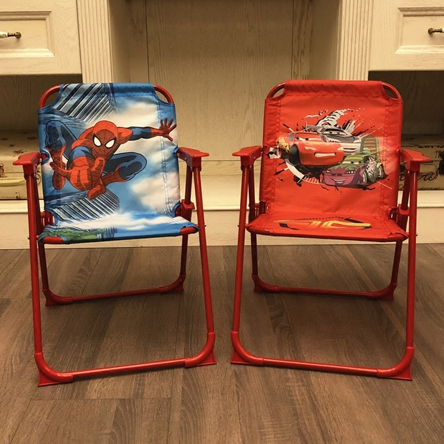 Kids Beach Chair Outdoor Folding Lawn And Camping Cartoon Color To Send Children S Birthday Gift