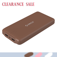 Clearance Sale 20000mAh Power Bank External Battery Portable Charger Dual USB Powerbank Phone Charger For IPhone