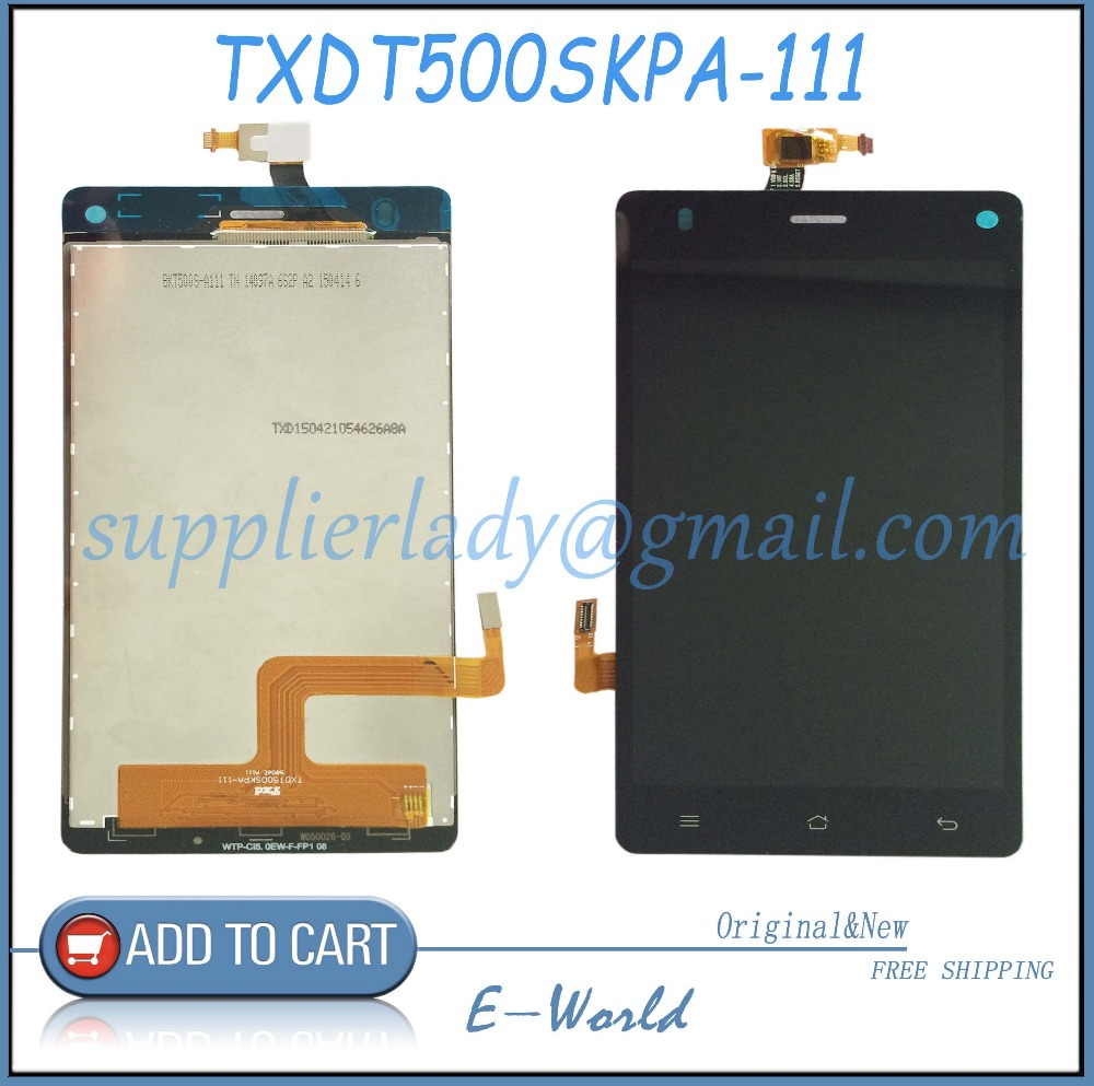 все цены на  Original and New LCD screen with touch screen TXDT500SKPA-111 TXDT500SKPA  Free shipping  онлайн