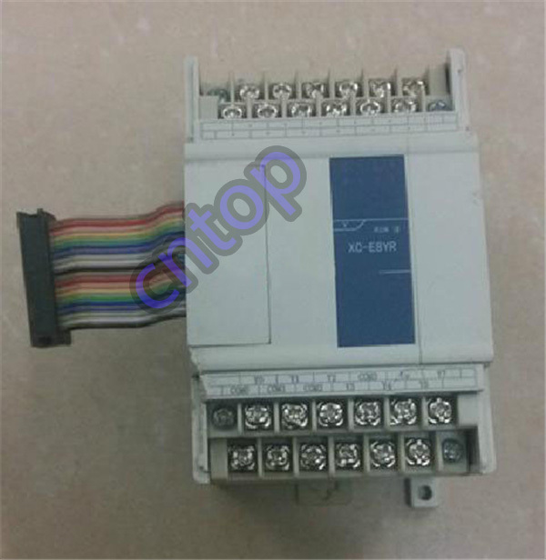 XC-E8YR XINJE XC Series PLC Digital I/O Module DO 8 Relay new in box xc e4ad2da xc series plc i o expansion analog module xc e4ad2da 4 channel 14 bits analog input