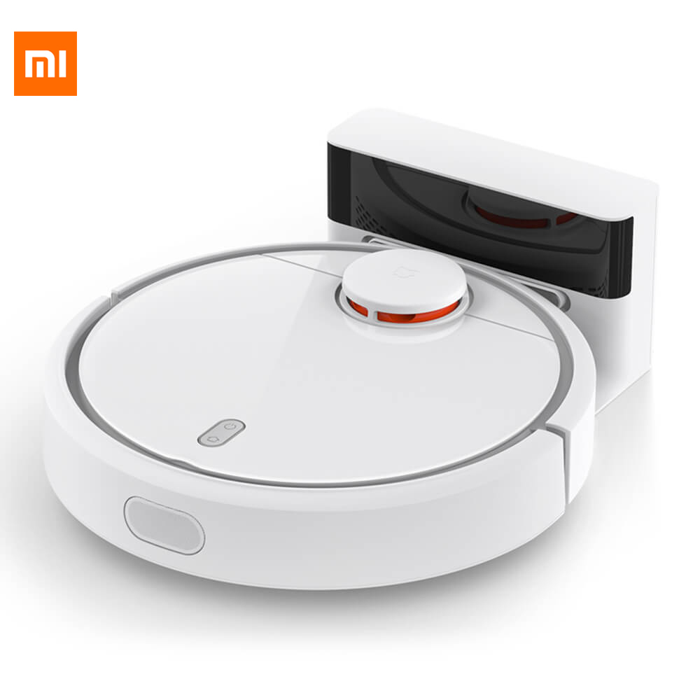 2017 Original XIAOMI MI Robot Vacuum Cleaner for Smart Home Automatic Sweeping Dust Sterilize Timer Planned APP Remote Control