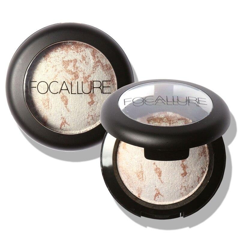 Focallure Составляют 10 Цветов Теней Для Век Палитра Теней для Век Порошок Жаркое Блеск Палитра Maquillage Profissional Completa Косметика