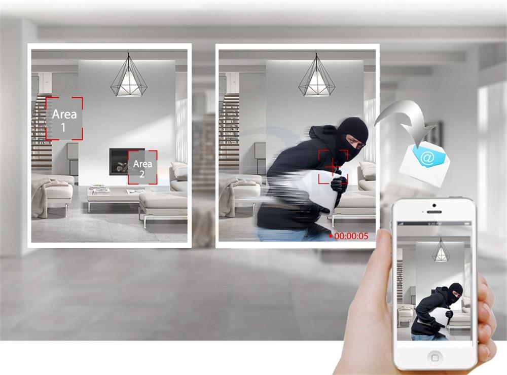 HQCAM 720P 960P 1080P Audio WIFI IP Camera indoor Wireless Surveillance Home Security Camera Onvif Camera TF Card Slot APP CAMHI 20