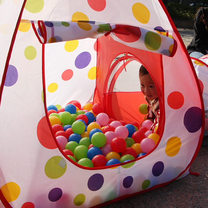 3 in 1 Toys Tent for children Foldable Pop Up Tunnel ...