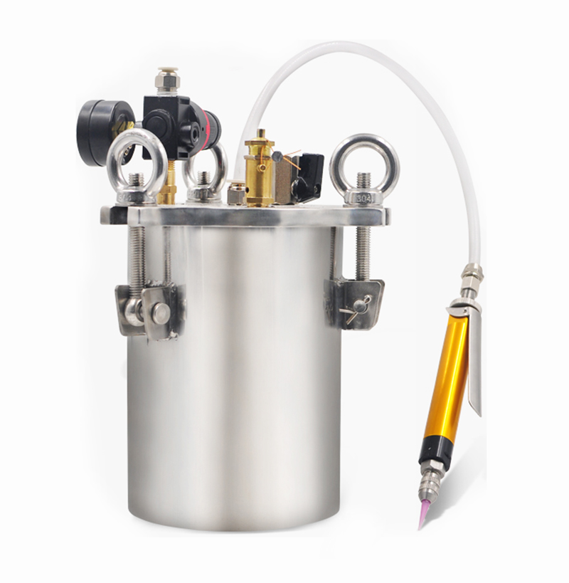 Manual High Precision Glue Dispenser High Flow Dispensing Valve 3L Stainless Steel Pressure Tank Simple Dispensing Machine Y