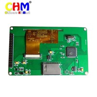5 Inch TFT Touch LCD Module 800 480 16M Luxury Colors Free Shipping J153