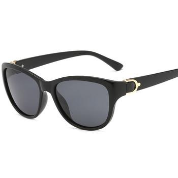 2020 Luxury Brand Design Cat Eye Polarized Sunglasses Men Women Lady Elegant Sun Glasses Female Driving Eyewear Oculos De Sol - C1