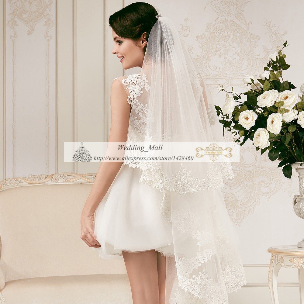 Vestidos De Noiva Custom Made Short Mini Beach Wedding Dresses 2017 Women Summer Party Plus Size Handmade Import China Free Veil In From