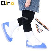 Elino Children Reusable Shoe Covers for Bike Waterproof Dustproof Rain Boot Cover Overshoes Protector Shoe Accessories Wholesale