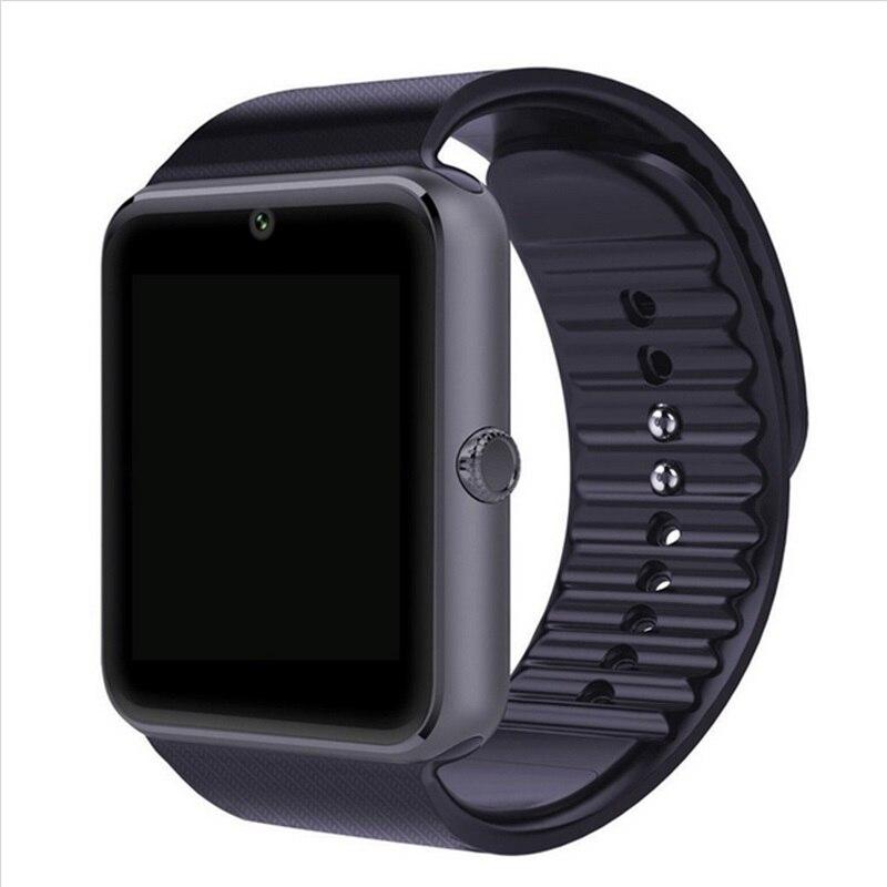 Bluetooth font b Smartwatch b font GT08 Smart Watch phone with SIM TF Card Camera Sport
