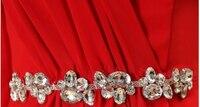 дешевые большие размеры бирюзовый зеленый одно плечо короткие платья невесты лавандовое платье до колен вечерние платья под 50 b2701