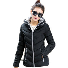 Manufacturers Vogue Nice New Winter women's Couture Slim Short Padded Down Coat Girl(China)