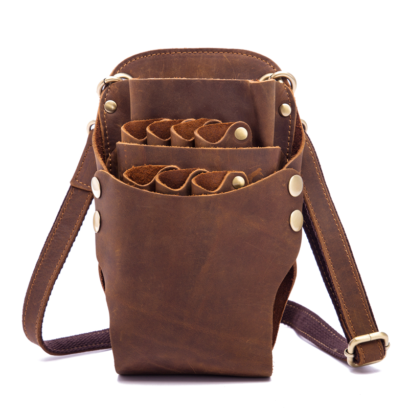 Scissors Bag Genuine Leather…