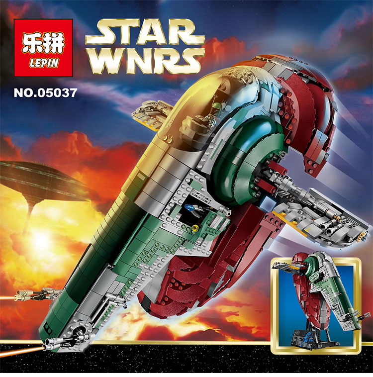 LEPIN 05037 UCS Slave Model 2067pcs Building Block Bricks Funny Toys Kits Compatible legoed 75060 lepin 22001 pirate ship imperial warships model building block briks toys gift 1717pcs compatible legoed 10210