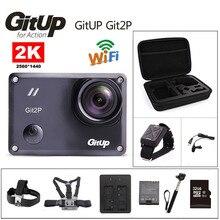 Экшн-камера Депортива оригинальный gitup Git2 P Новатэк 96660 удаленных Ultra HD 2 К Wi-Fi 1080 P 60fps Спорт идти Водонепроницаемый Pro камеры