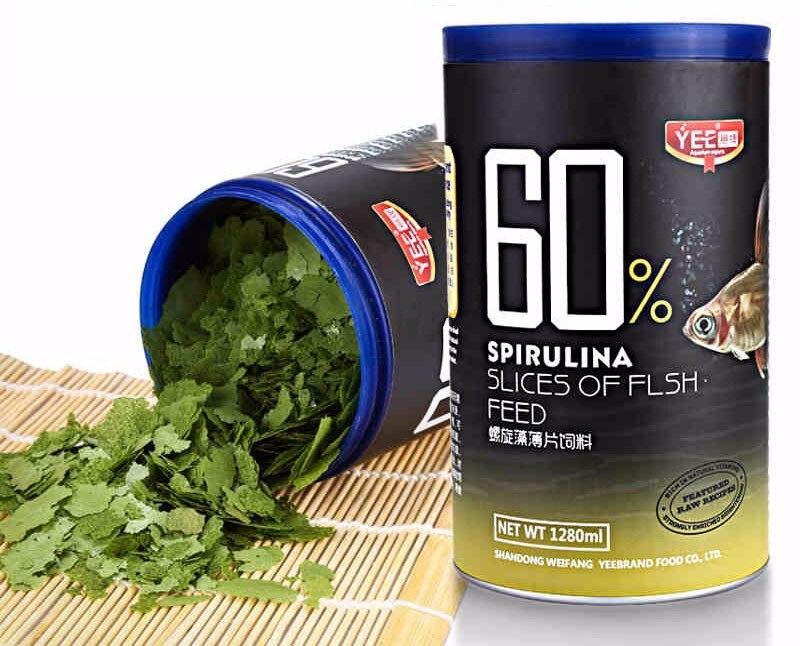 Spirulina Flake Artemia Flake Fish Food  Feed For All Kinds Of Tropical Aquarium Small Fish