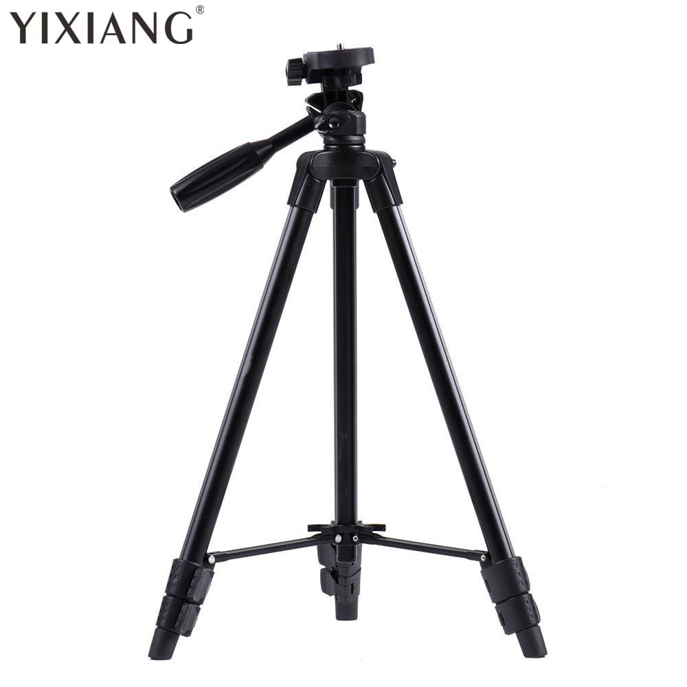 YIXIANG VCT-520RM draagbare camera statief aluminium statief met - Camera en foto