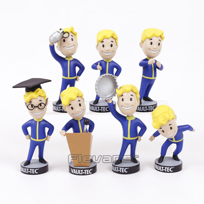 Toy Action-Figure Bobble-Head Fallout Vault Collectible-Model Boy PVC 7-Styles Brinquedos