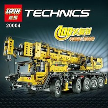 NEW LEPIN 20004 technic series 2606pcs Motor power mobile crane MK Model Building blocks Bricks Compatible  Boys Gift