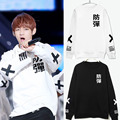 Kpop sweatshirts KPOP BTS 2016 brand men Bangtan children BTS BTS bulletproof KPOP Bangtan children hooded EXO K POP