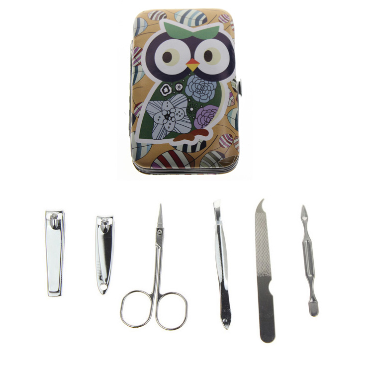 6Pcs / Set 6 Different Kinds Owl Үздік француздық - Маникюр - фото 6