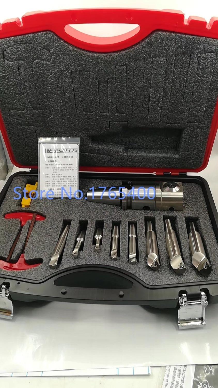 Precision NBJ16 Boring Head System BT40 M16 Holder 8pcs 16mm Boring Bar Boring rang 6 51mm