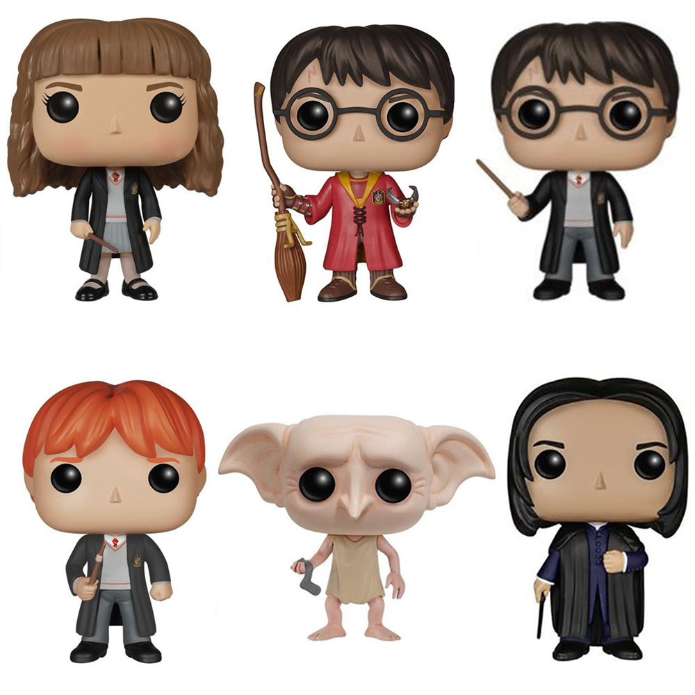 Genuine 10cm harry potter wizard dobby hermione rone - Rone harry potter ...