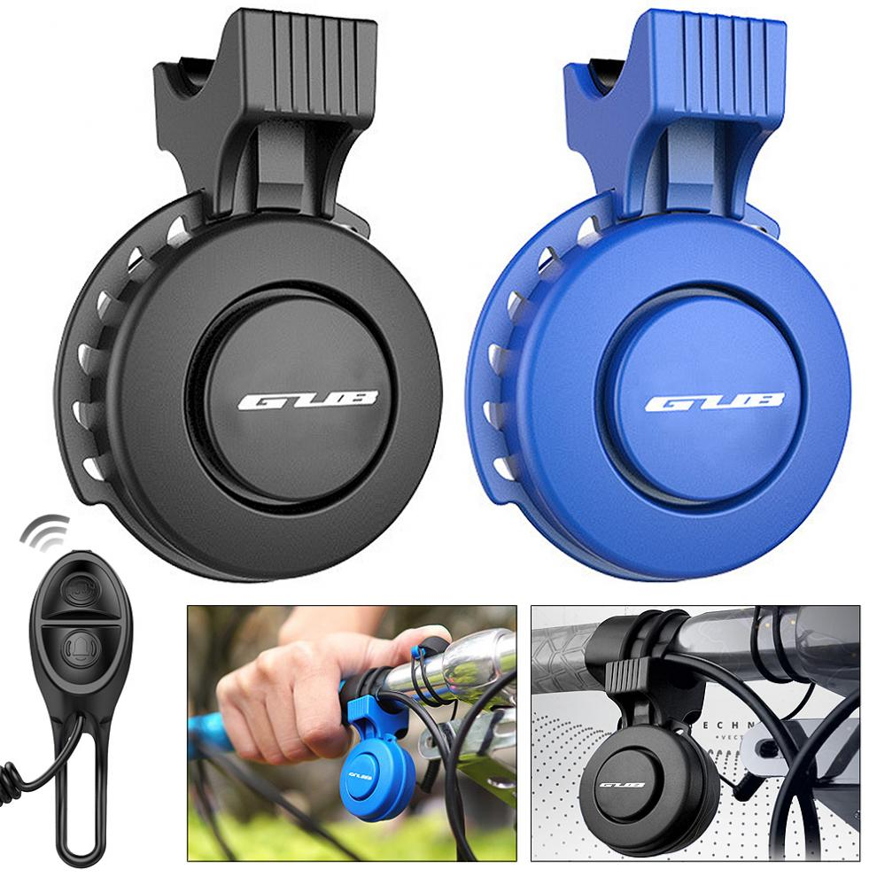Rechargeable Waterproof Portable Electronic Bicycle Horn Loud Volume Cycling Handlebar Electric Bike Ring Mini Alarm Bells Bicycle Bell     - title=