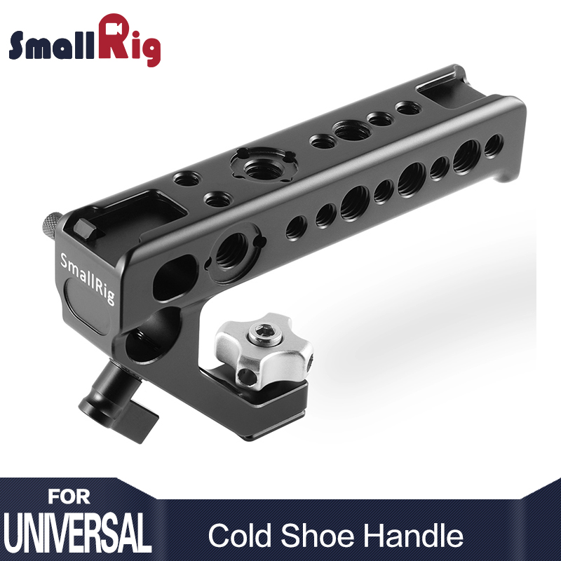 SmallRig Quick Release camera stabilizer Handle Shoe Handle with an ARRI Locating Hole 15mm Rod Clamp DIY Camera Rig - 2094