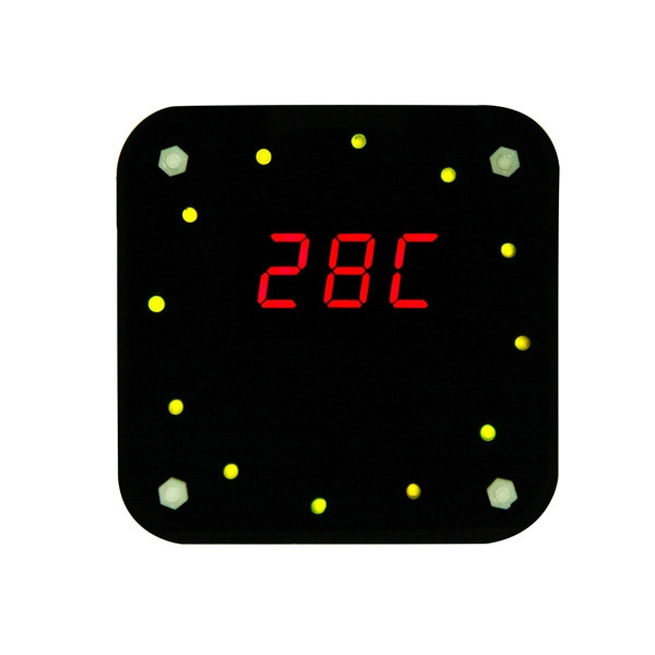 Factory Wholesale Free Shipping DIY DS1302 Rotation LED Electronic Clock Kit + Acrylic Box wholesale diy yangtaishangdexiaoniao