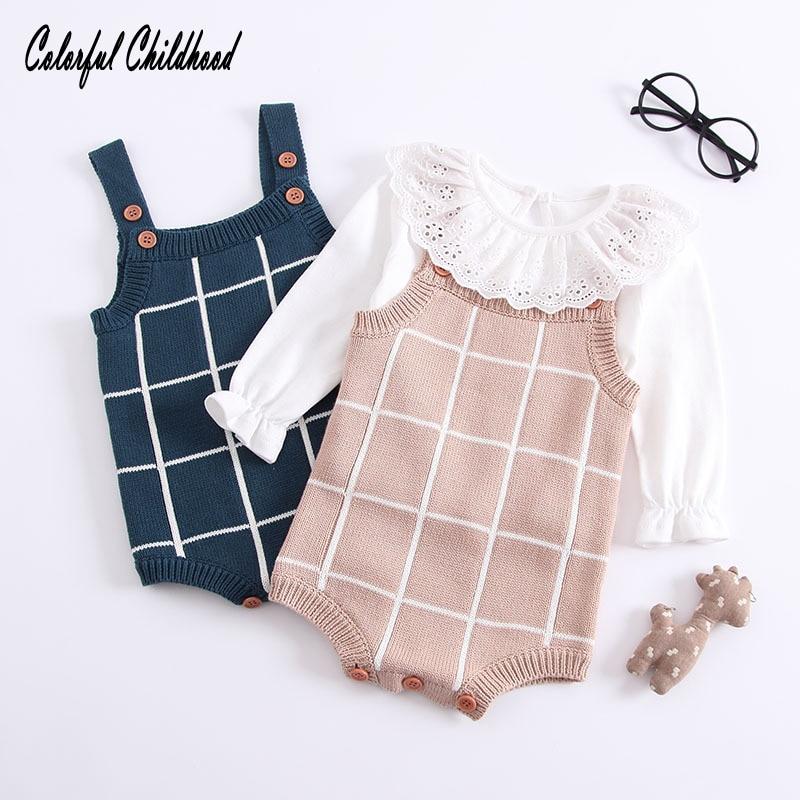 2018 Neue Mode Herbst Winter Neugeborenen Baby Kinder Mädchen Kleidung Lässige Warmer Kleidung Für Kleinkind 6 Mt 12 Mt 18 Mt 24 Mt 3 T