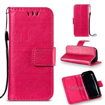 En relieve Flip teléfono caso de la sFor Estuche Nokia 105 DE...