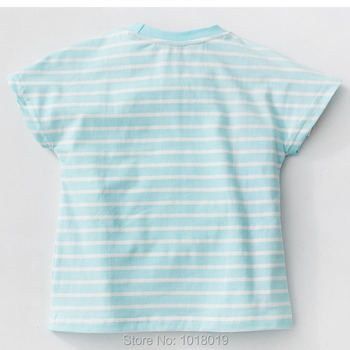 Brand 100% Cotton New 2018 Summer Baby Girl Clothing Toddler Children Kids Clothes Tees T-Shirt Short Sleeve t Shirt Girl Blouse