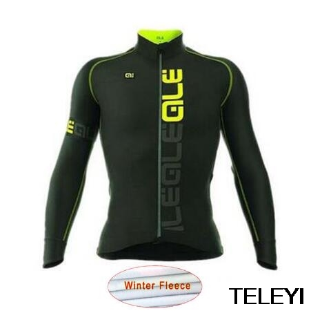 ale Ropa ciclismo hombre invierno winter thermal fleece long cycling jersey maillot only 2017 mtb clothing #85 цены онлайн