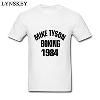2018 Simple Style Student Tees Mike Tyson Boxer Black Letter Words Graphic Tops T Shirt For