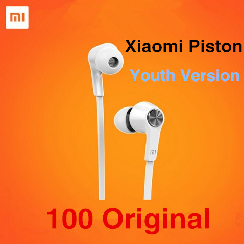 Original Xiaomi earphone Piston Youth Edition Newest xiaomi piston 3 Youth edition Earphone For iPhone Xiaom mi4,mi3 Redmi