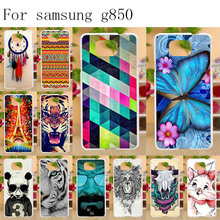 Anunob Soft TPU Case Coque For Samsung Galaxy Alpha G850 G850F G8508S Coque Silicone Colorful Cover Funda Galaxy G850H Bumper стоимость